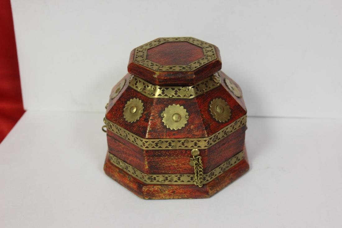 A Decorative Wood Box - 4