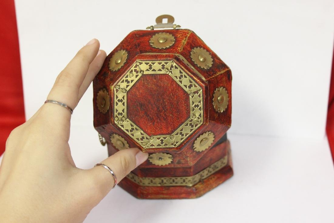 A Decorative Wood Box - 8