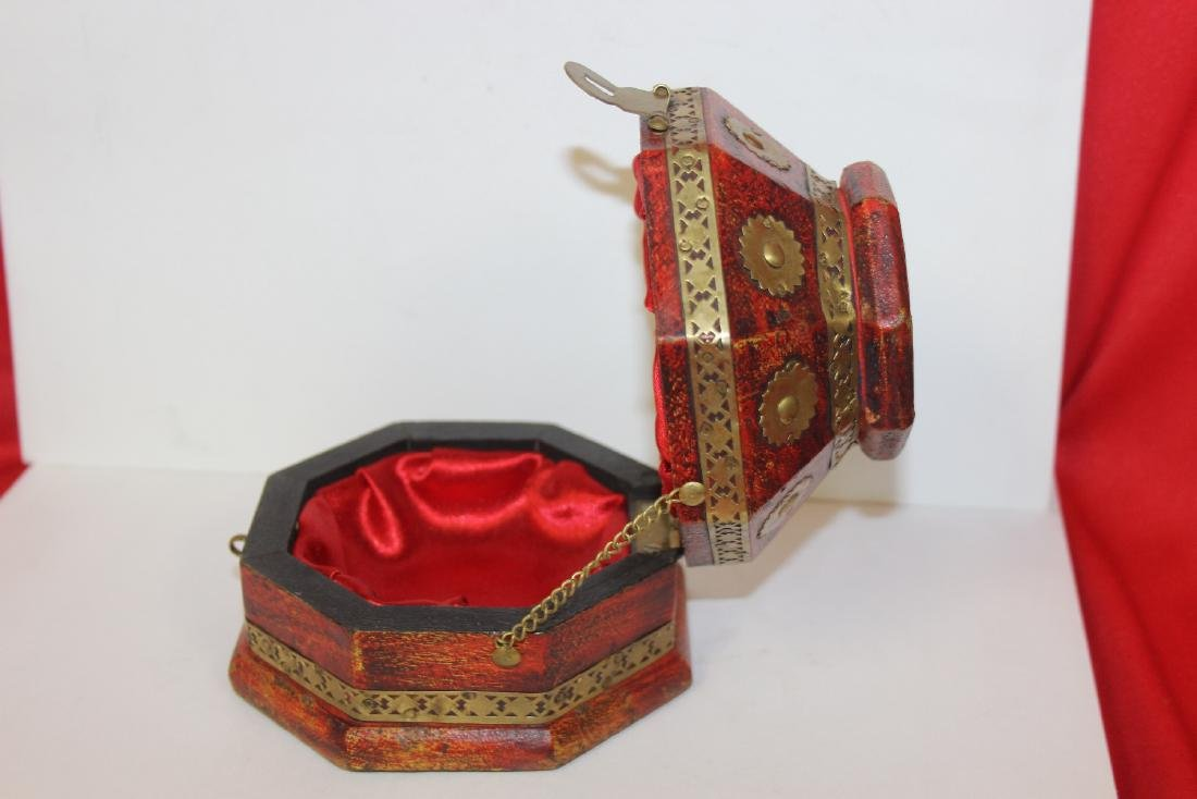 A Decorative Wood Box - 9