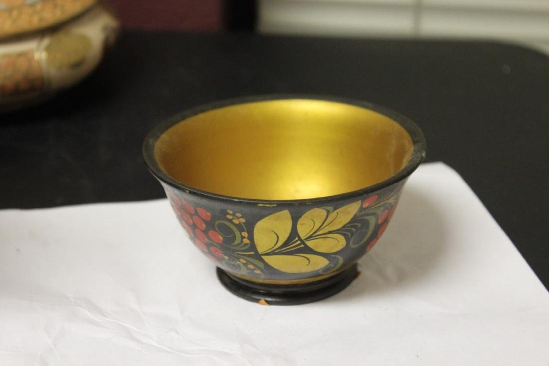 A Russian Lacquer Bowl