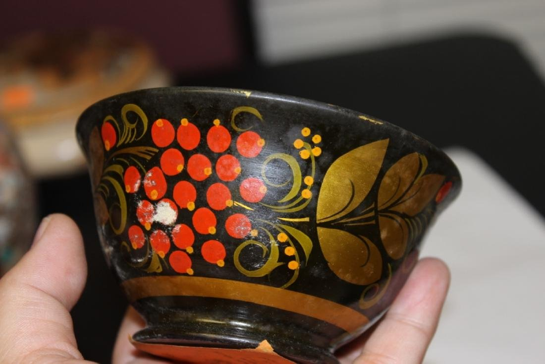 A Russian Lacquer Bowl - 3