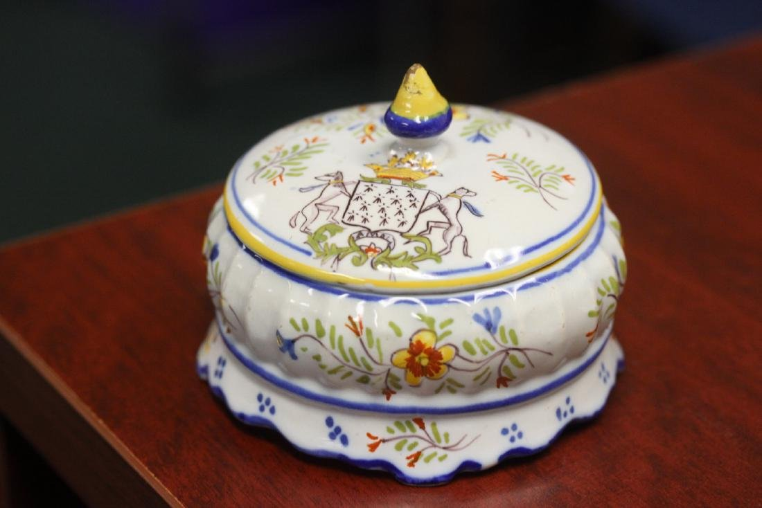 An Italian? Portugese? Trinket Box with lid