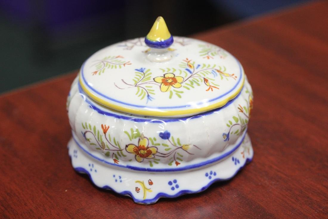 An Italian? Portugese? Trinket Box with lid - 9