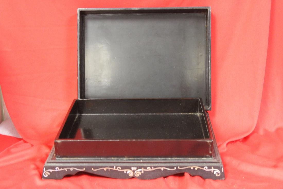 A Mother of Pearl Inlaid Box - 4