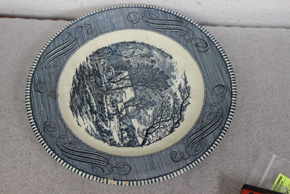 A Currier and Ives Old Griest Mill Plate