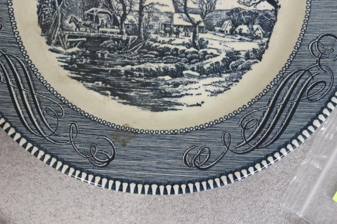 A Currier and Ives Old Griest Mill Plate - 2