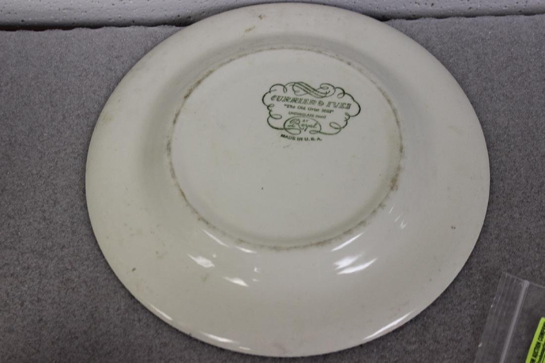 A Currier and Ives Old Griest Mill Plate - 8