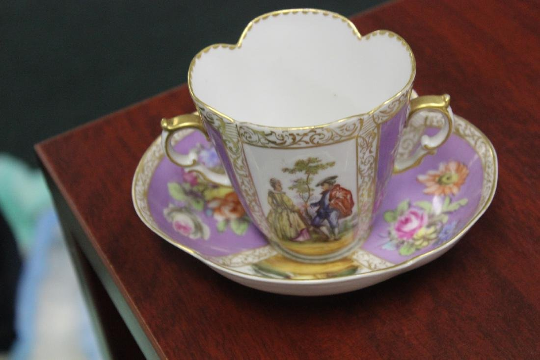 a Meissen? Cup and Saucer