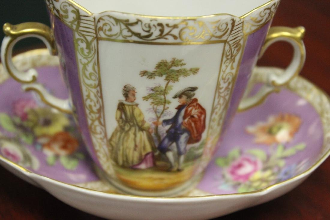a Meissen? Cup and Saucer - 2