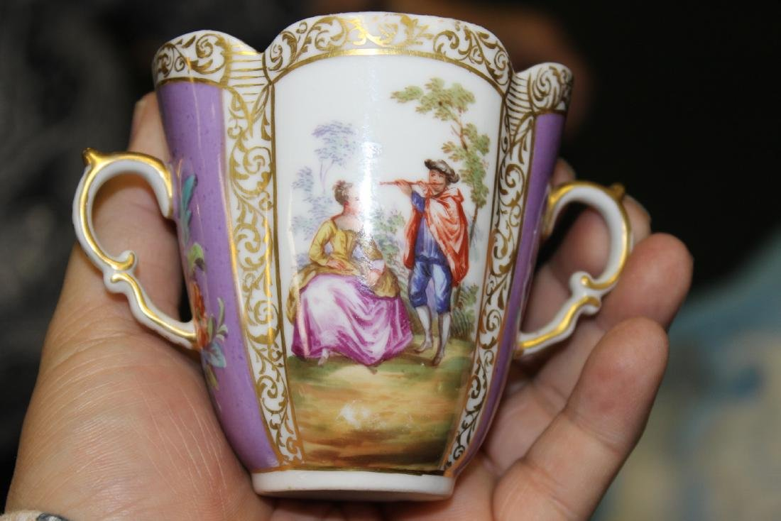a Meissen? Cup and Saucer - 6