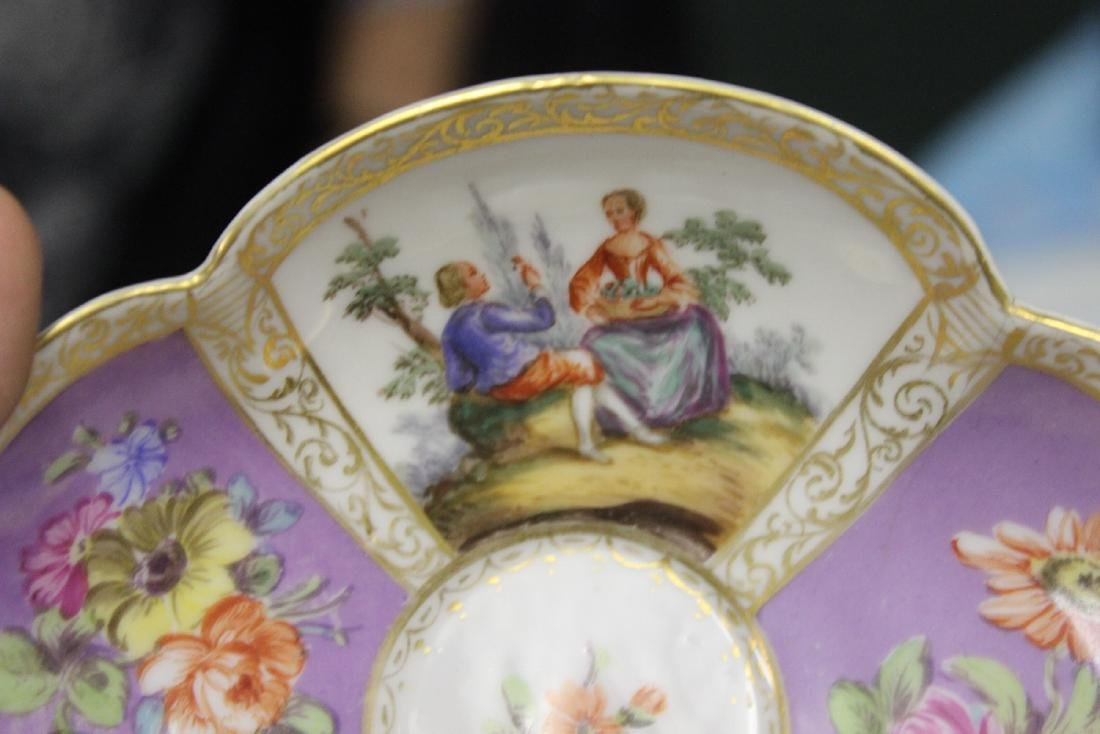 a Meissen? Cup and Saucer - 9