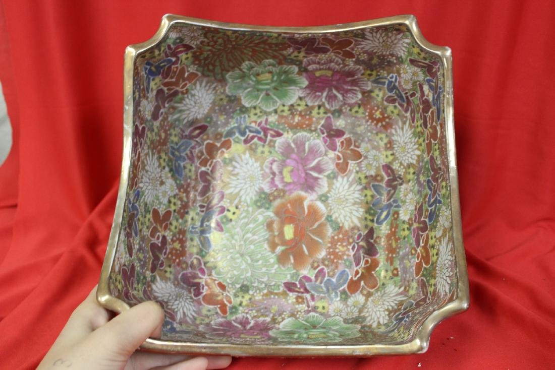 A Chinese Signed Square Bowl - 2