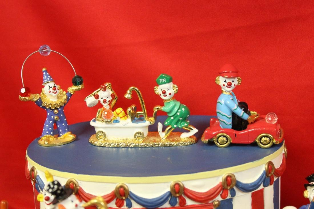 Spoontique Circus Pewter Figurine Set - 8