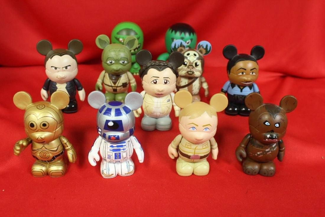 Lot of Disney and Other Collectables