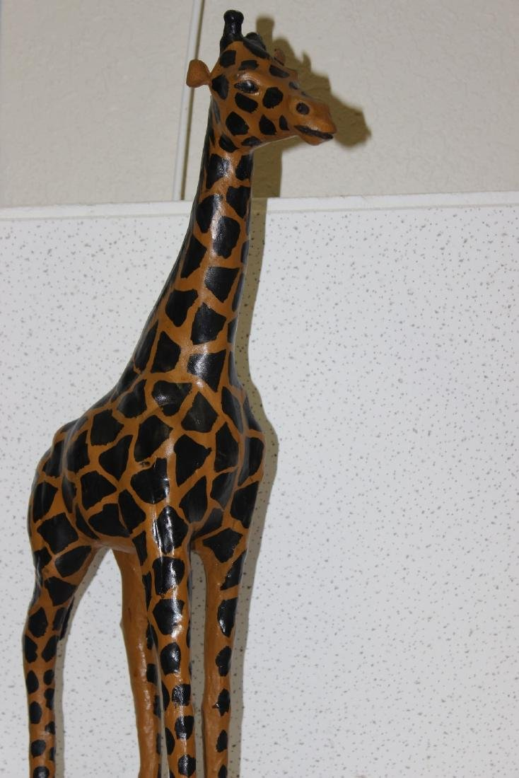A Leather Giraffe