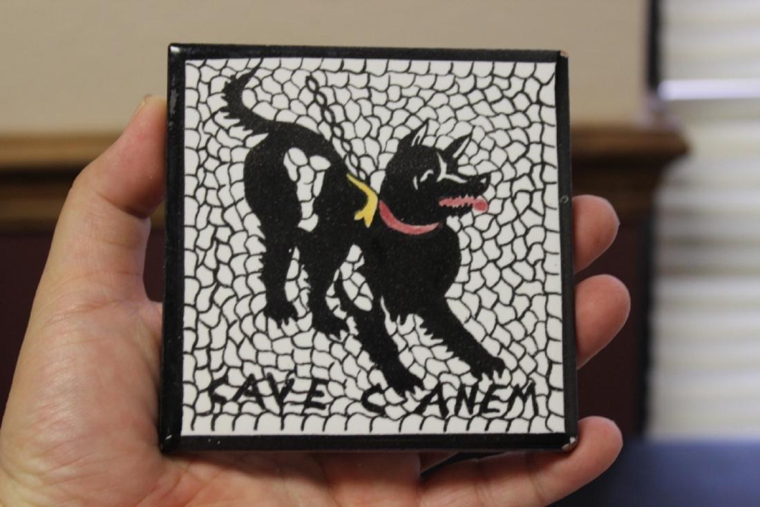 A Cave Canem Tile