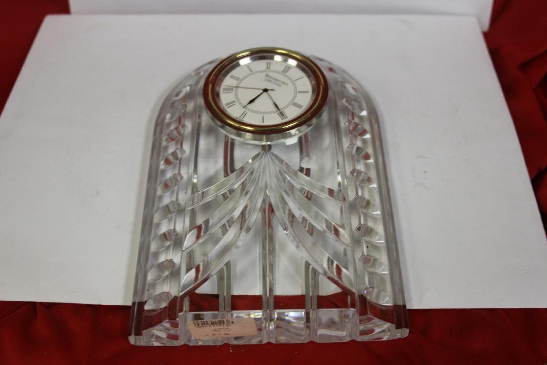 A Waterford Glass Clock