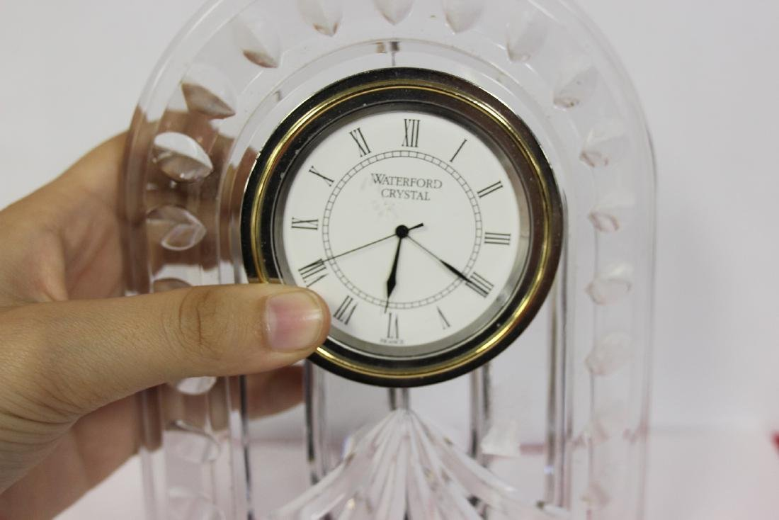 A Waterford Glass Clock - 3