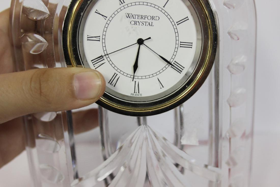 A Waterford Glass Clock - 4