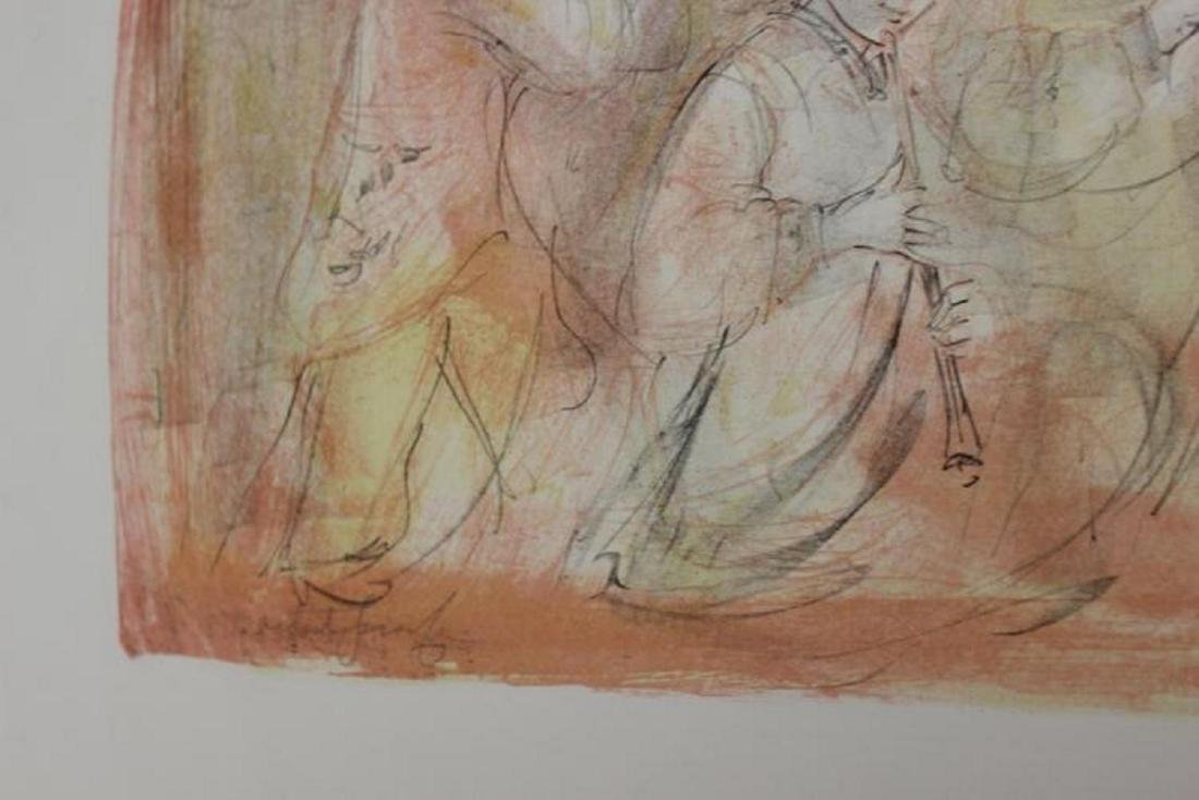 Edna Hibel Pencil Signed Lithograph - 7