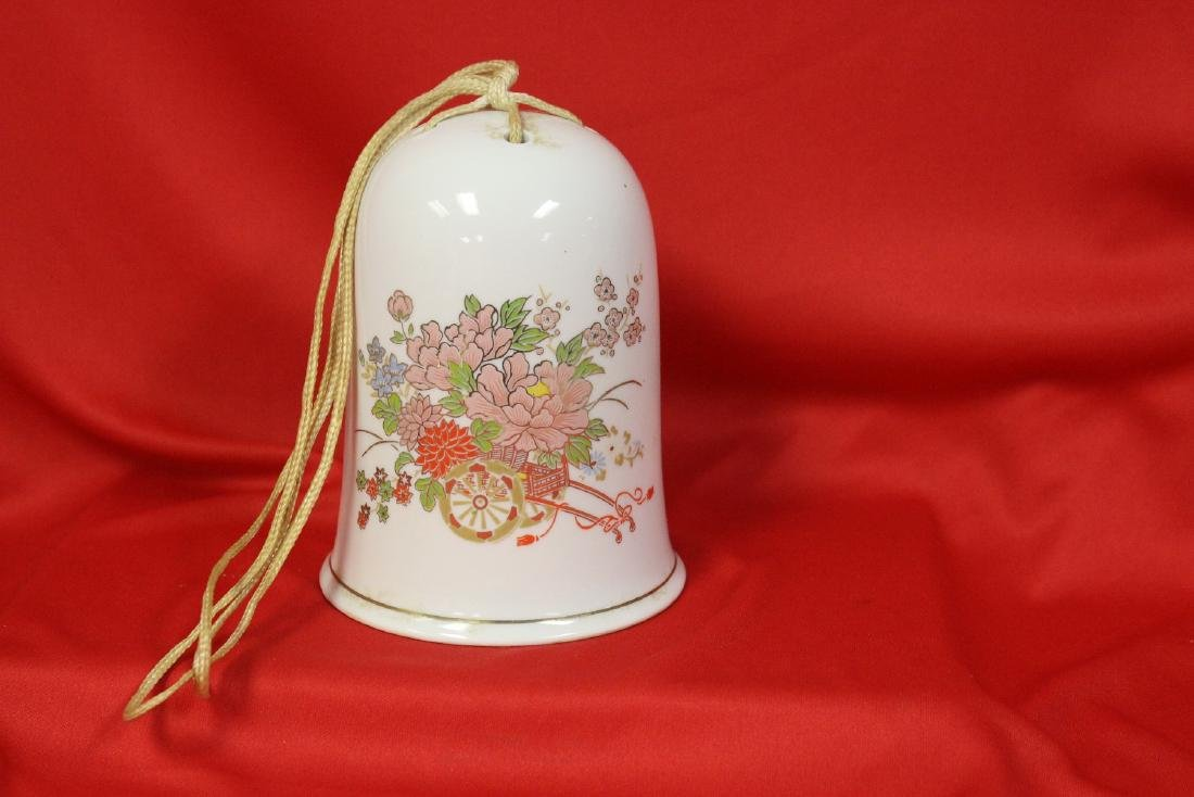 A Decorative Japanese Ceramic Bell