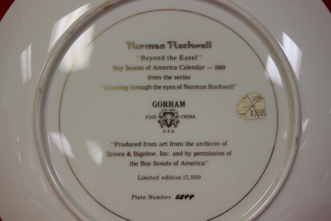 A Norman Rockwell Collector's Plate - 3