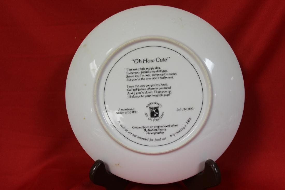 A Collector's Plate by Bart Jerner - 2