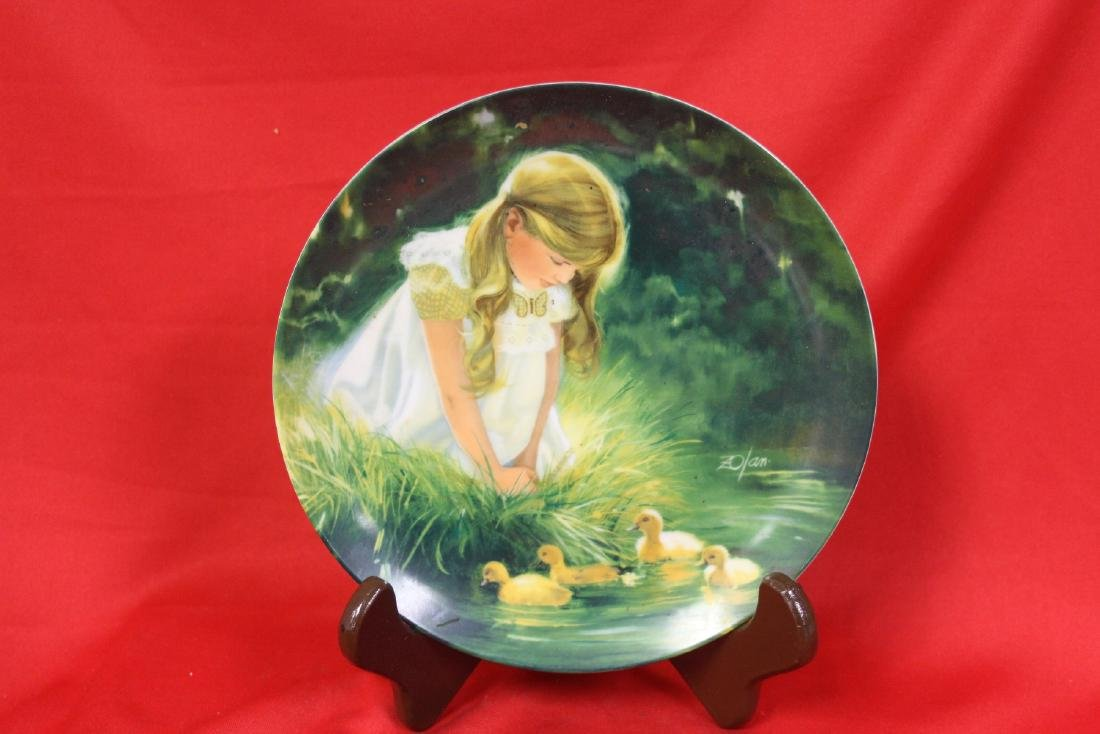 A Collector's Plate by Zolan