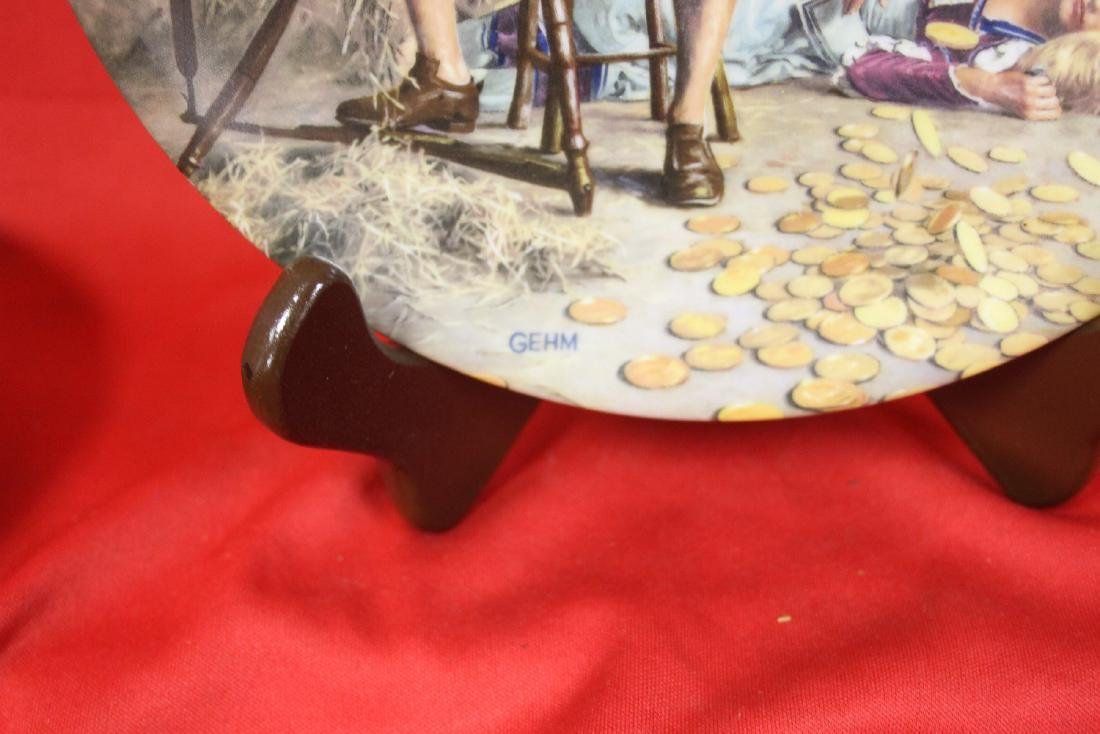 A Collector's Plate by Charles Gehm - 2