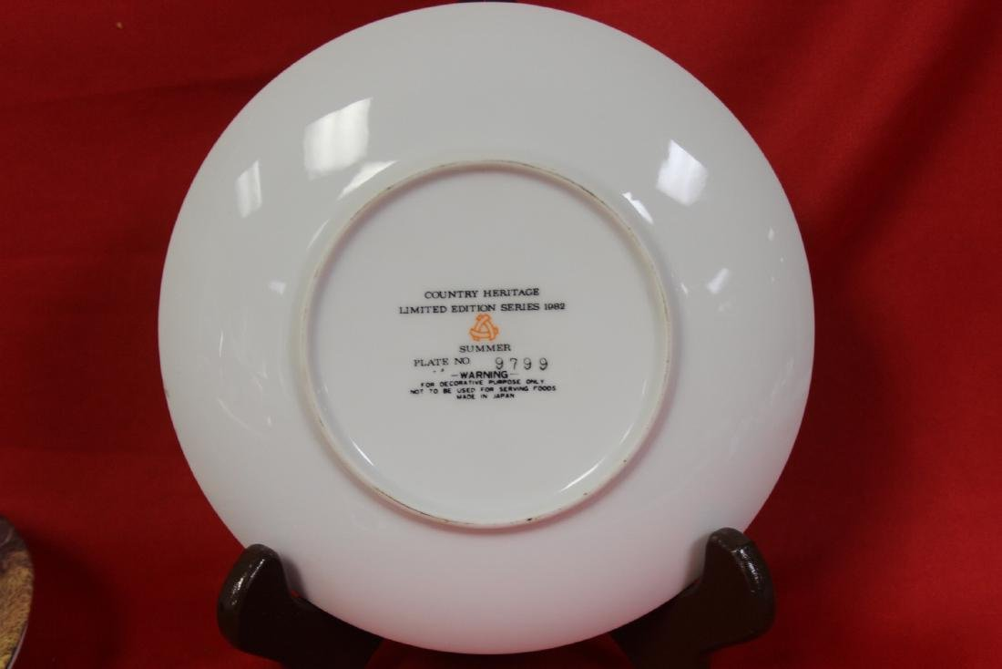 A Country Heritage Summer Collector's Plate - 3