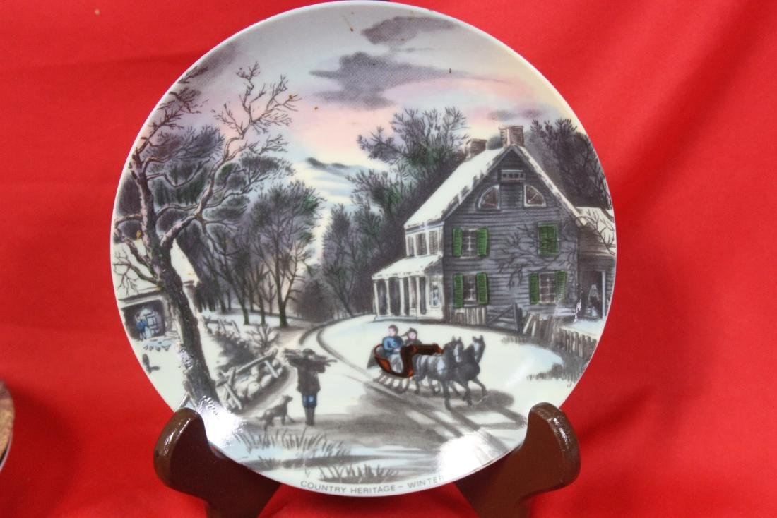 A Country Heritage Summer Collector's Plate