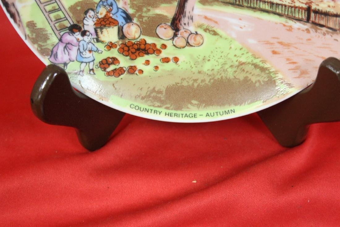 A Country Heritage Summer Collector's Plate - 2