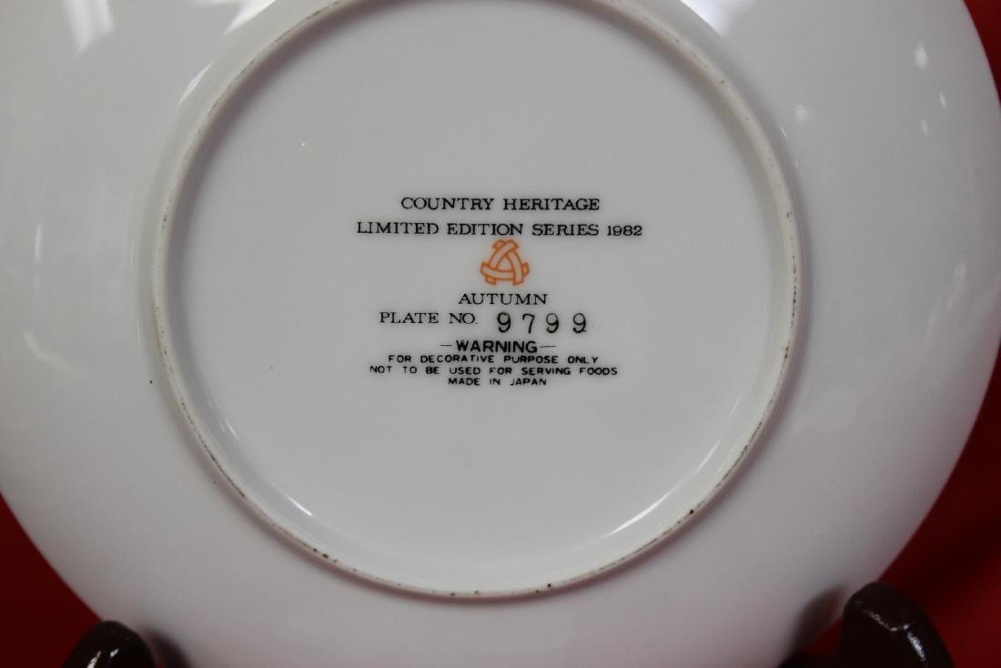 A Country Heritage Summer Collector's Plate - 4