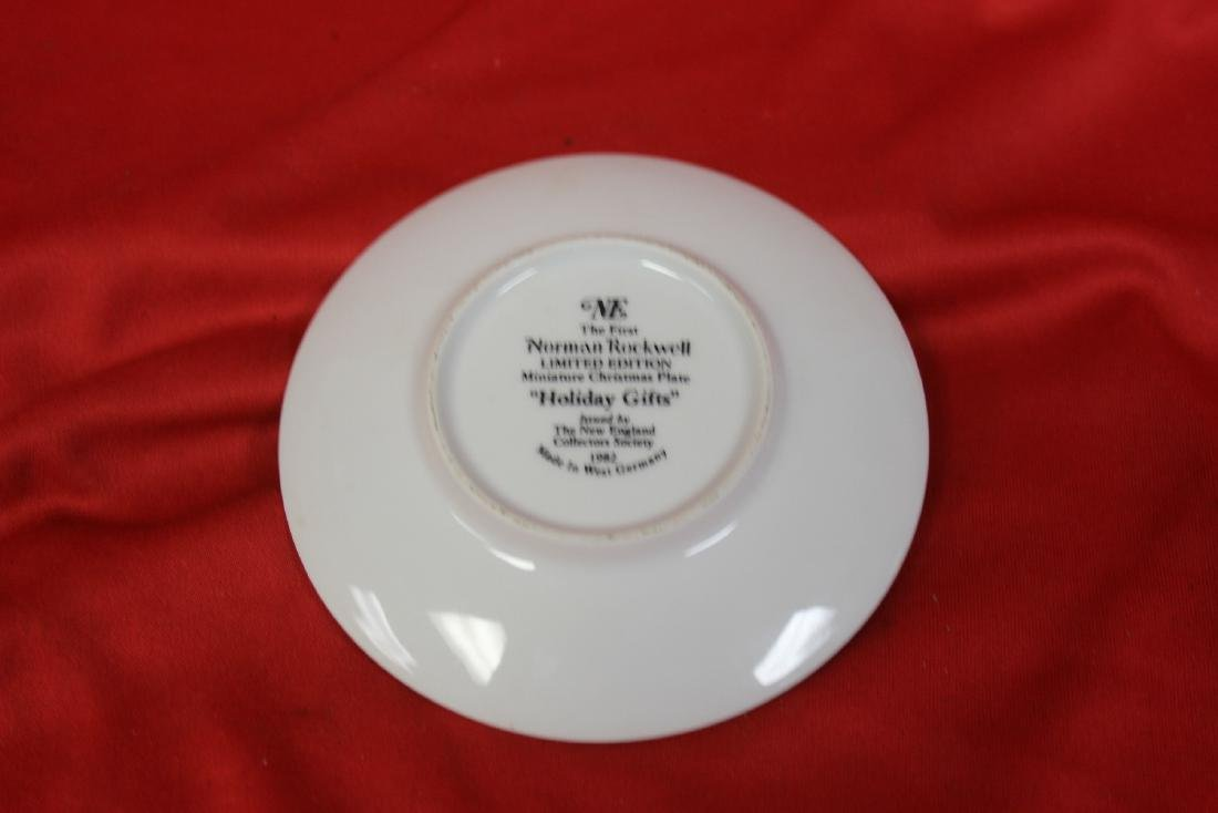 A Norman Rockwell Miniature Collector's Plate - 2