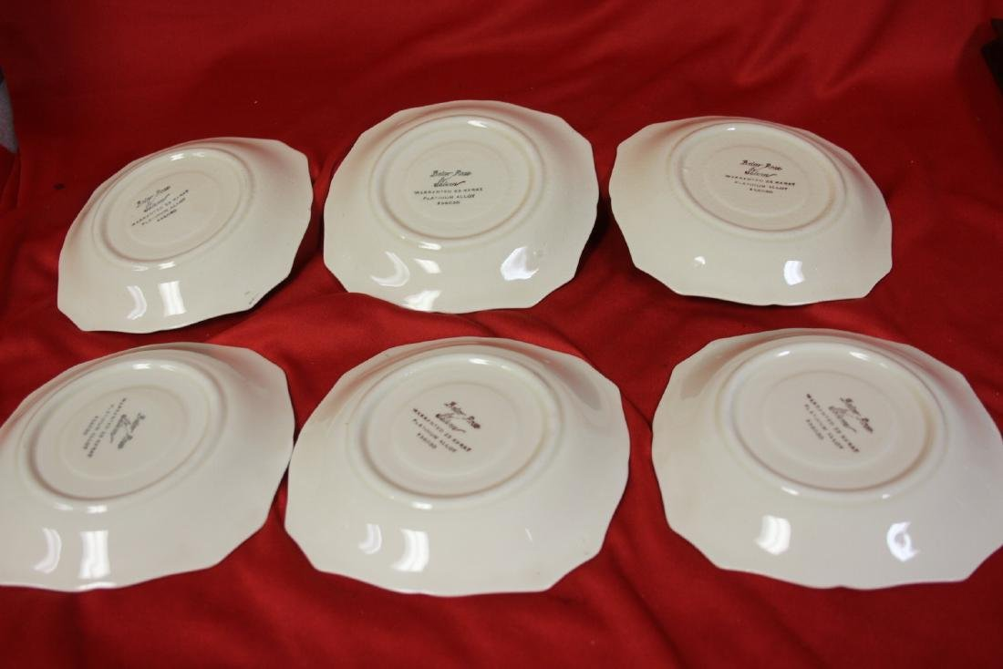 Lot of 4 Saucer Dishes - 2