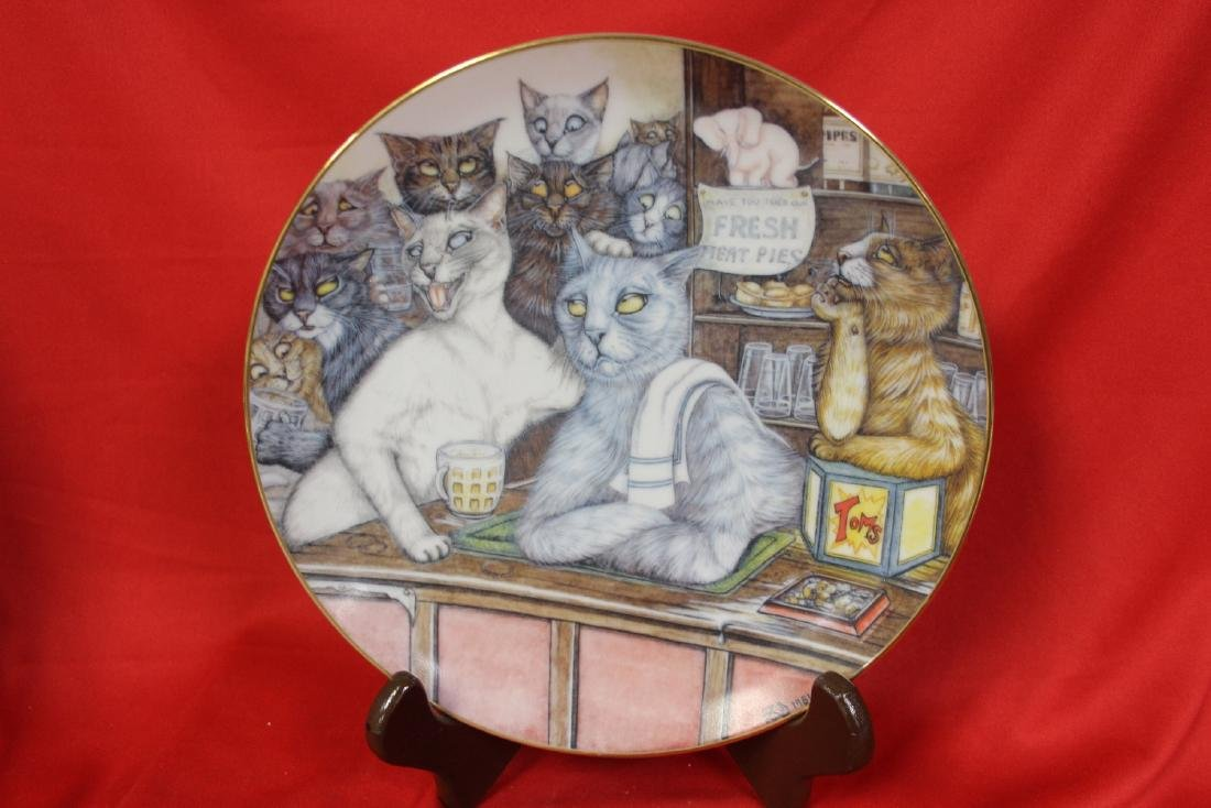A Collector's Plate by Zoe Stokes
