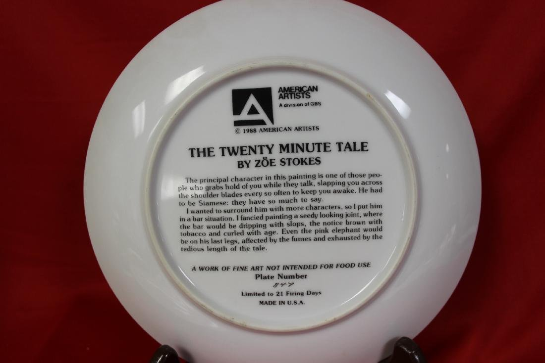 A Collector's Plate by Zoe Stokes - 4
