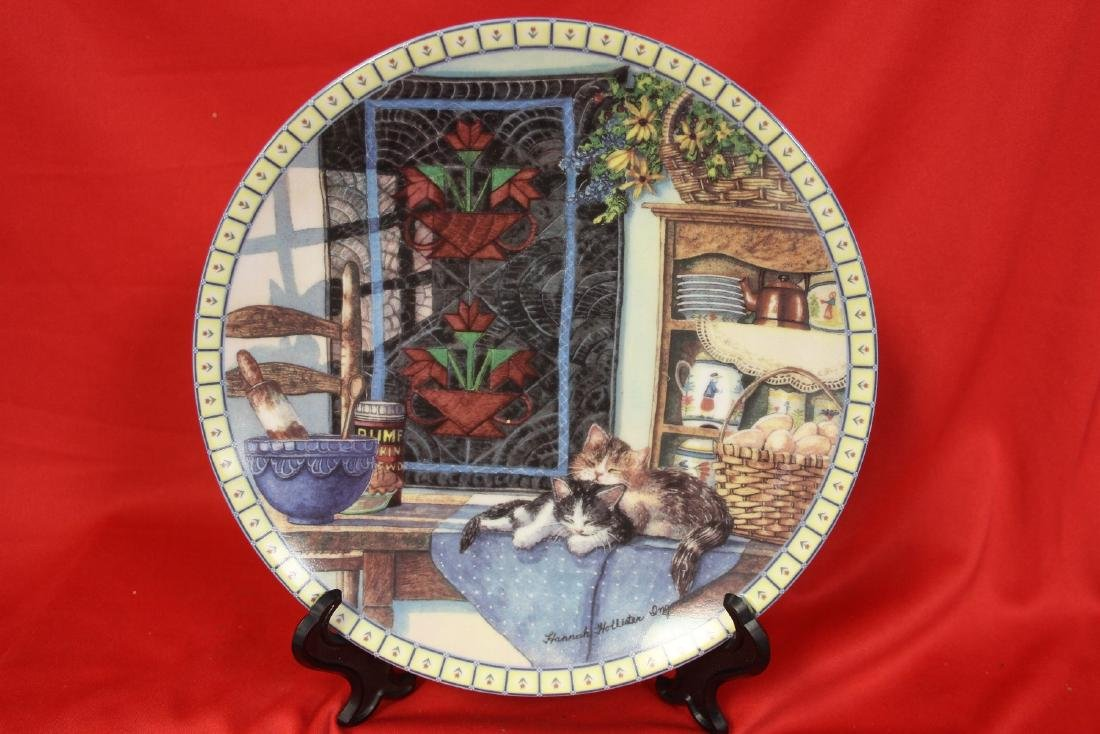 A Collector's Plate by Hannah Hollister Ingmire