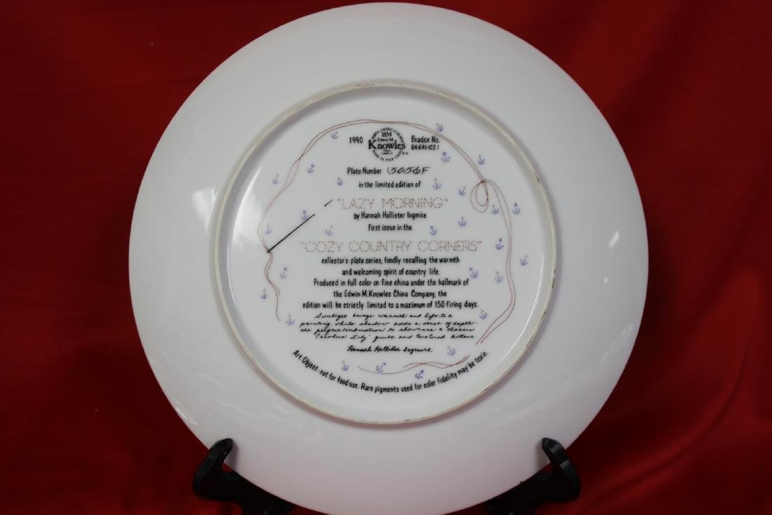 A Collector's Plate by Hannah Hollister Ingmire - 3