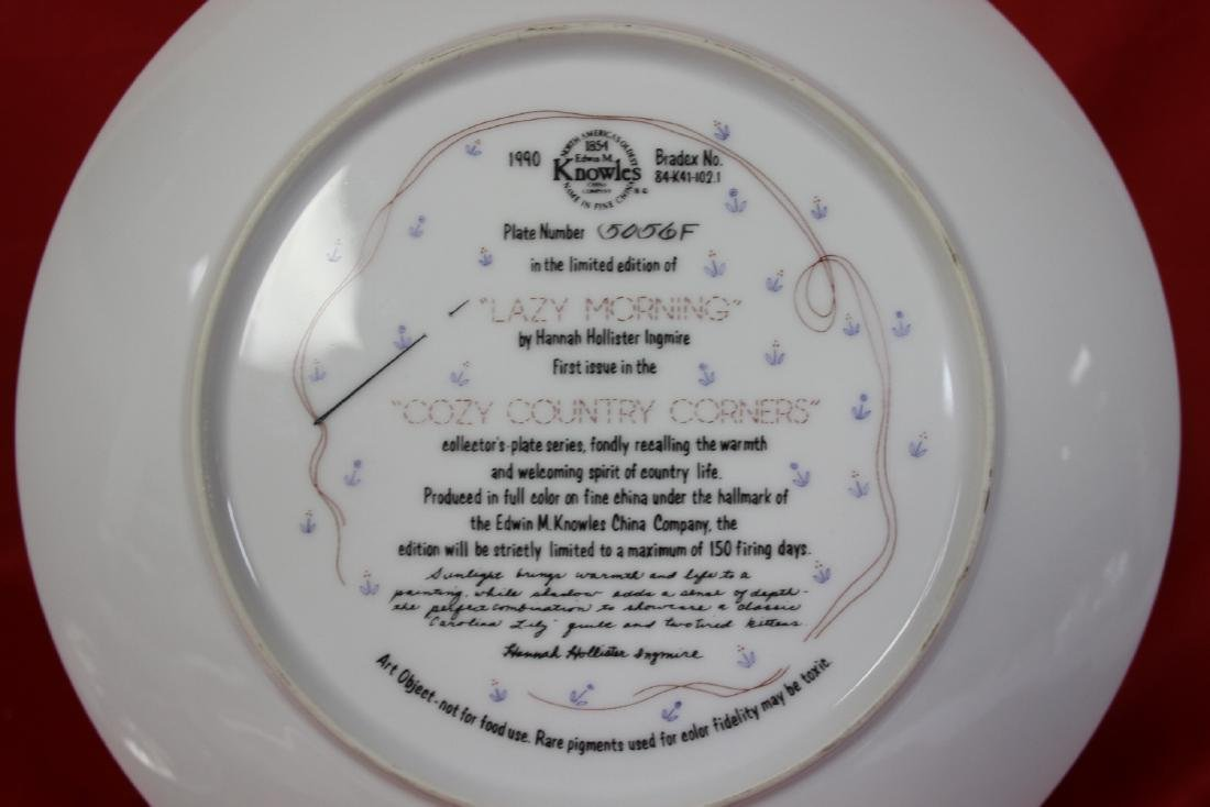 A Collector's Plate by Hannah Hollister Ingmire - 4