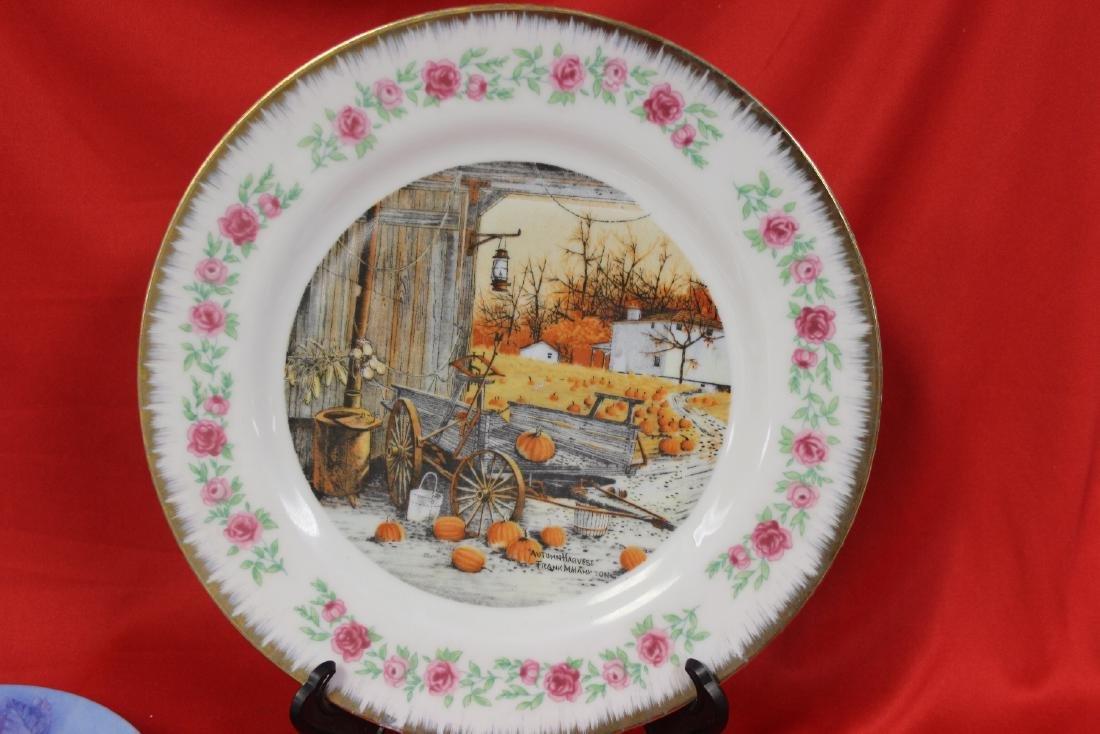 Lot of 4 Vintage Decorative Plates - 2