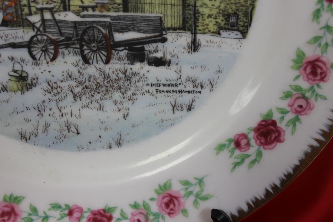 Lot of 4 Vintage Decorative Plates - 6