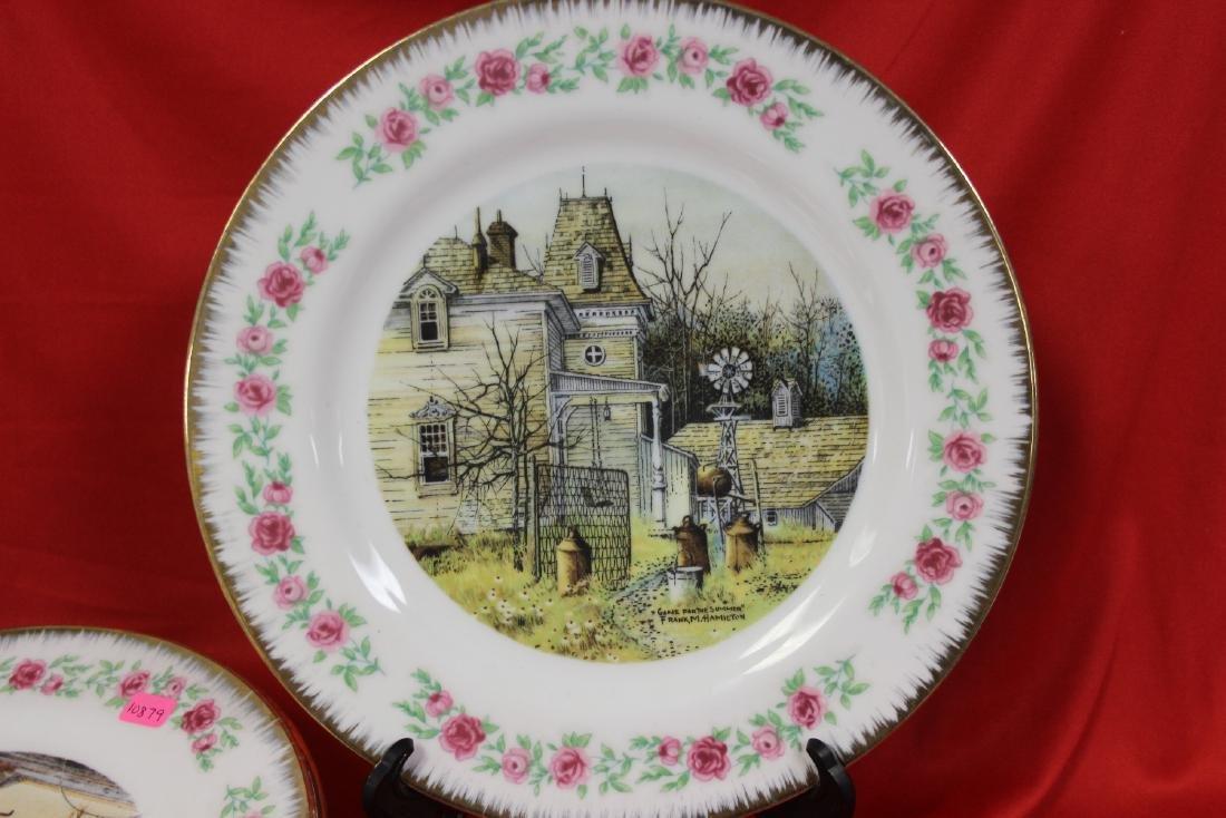 Lot of 4 Vintage Decorative Plates - 7