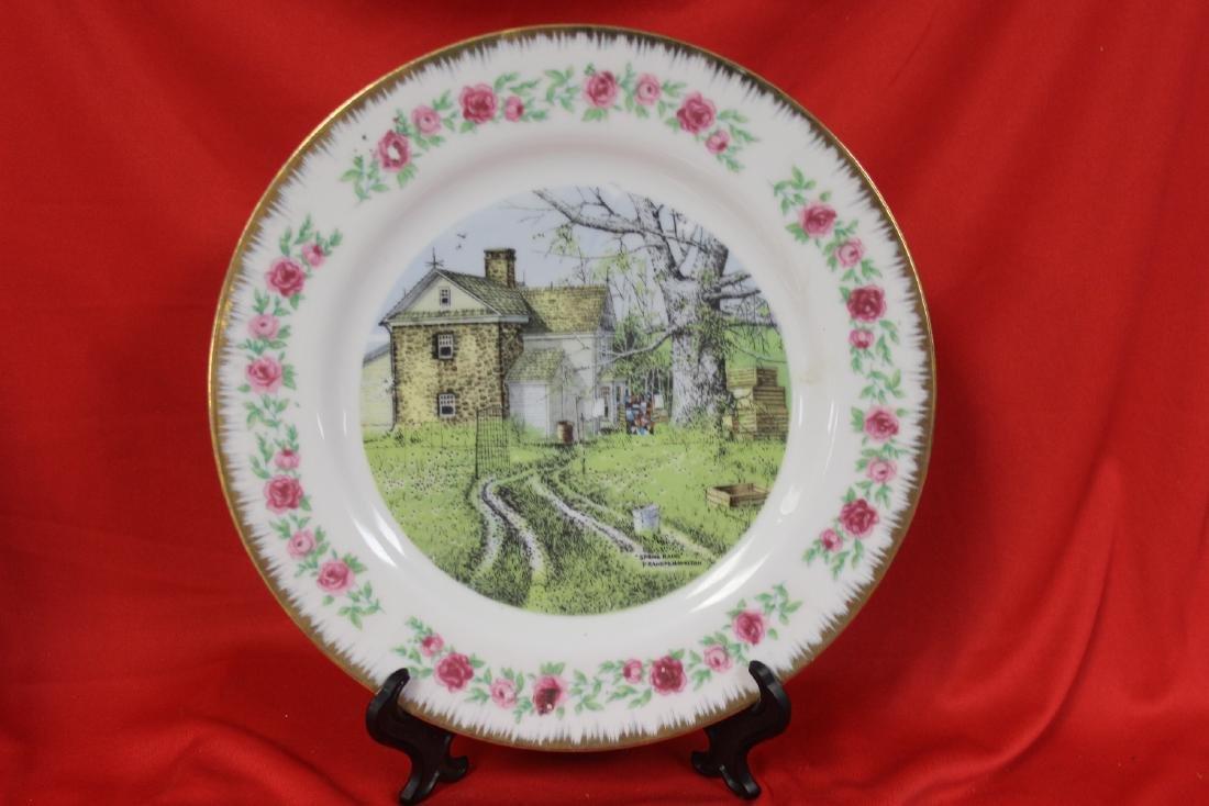 Lot of 4 Vintage Decorative Plates - 9