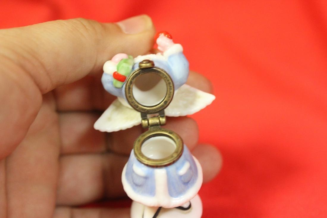 A Ceramic Angel Form Trinket Box - 7
