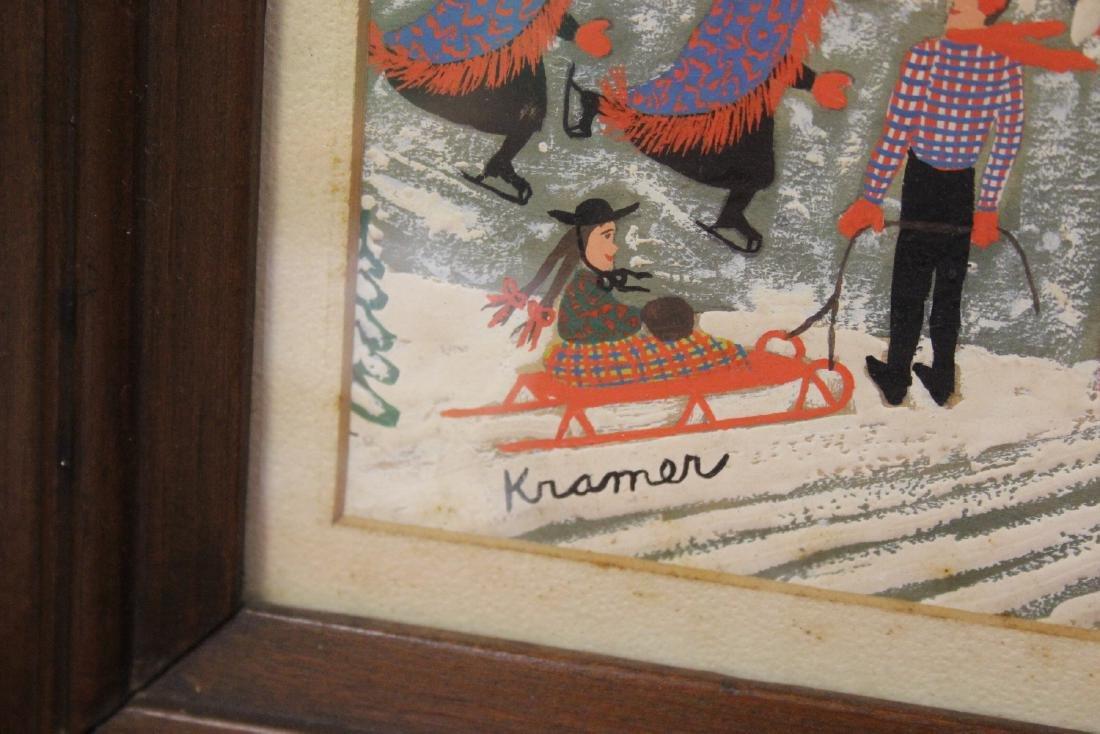 An Oil? Pastel? Painting - Signed Kramer - 2
