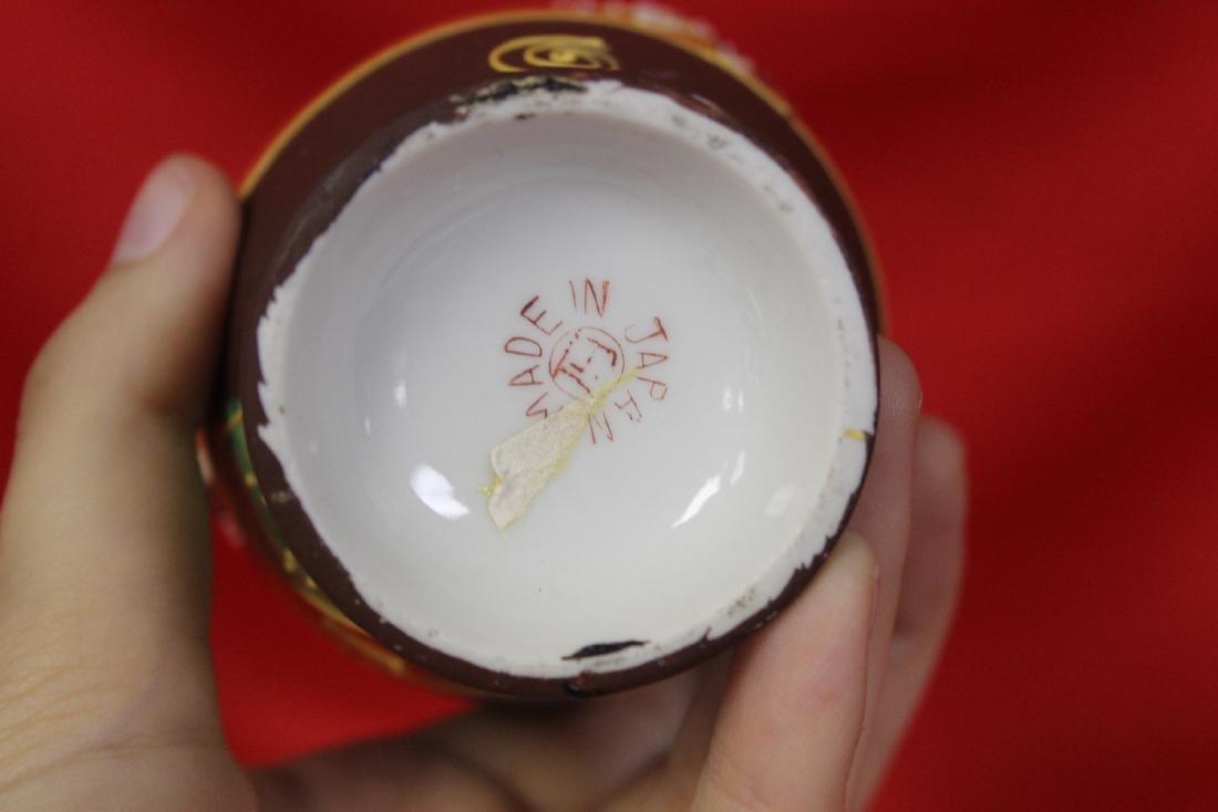An Early Japanese Raised Dragon Vase - 4