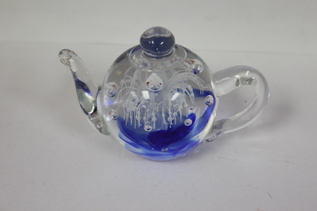 A Dynasty Gallery Teapot Form Paperweight - 3