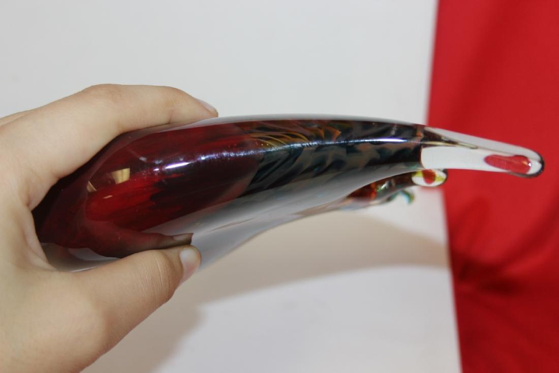 An Art Glass Angel Fish - 6