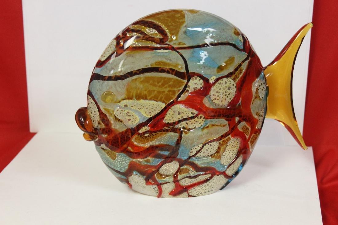 An Art Glass Fish - 2